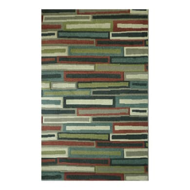 Tappeto Spring multistripes , multicolor, 160x235 cm
