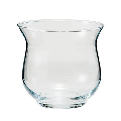 Vaso in vetro Tybi H 11 cm Ø 12 cm