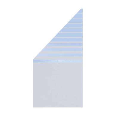 Pannello in vetro temperato Krystal mod. Beta 90 x 180 cm