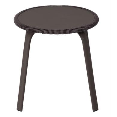Tavolino da giardino rotondo Veracruz NATERIAL con piano in acciaio Ø 70 cm