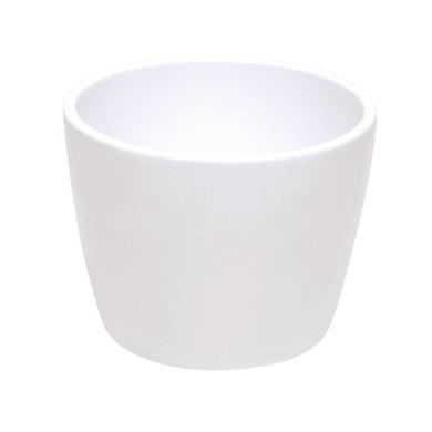 Portavaso Stella in ceramica colore bianco H 26.9 cm, Ø 32 cm