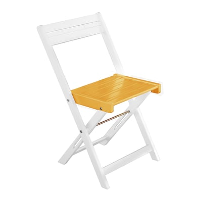 Sedia da giardino senza cuscino Balcony colore arancione