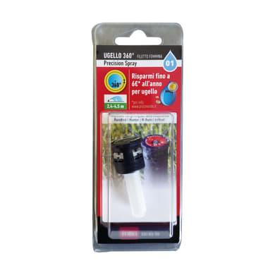 Testina per irrigatore Precision spray 360°