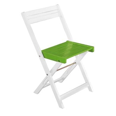 Sedia da giardino senza cuscino Balcony colore verde