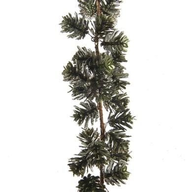 Ghirlanda natalizia di pigne verde L 120 cm , Ø 6 cm