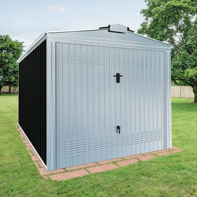 Garage in acciaio al carbonio Orlando SAPIL 12.65 m², Sp 0.6 mm
