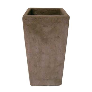 Vaso Etrusco in terracotta colore etrusco H 10 cm, L 10 x P 10 cm