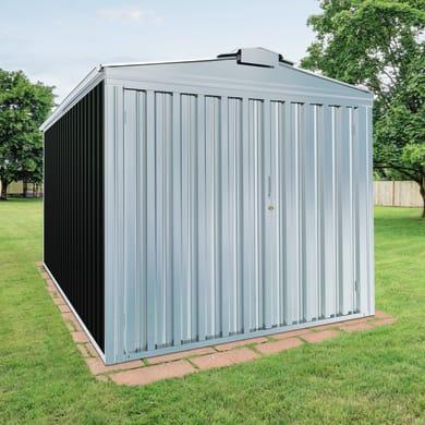 Garage in acciaio al carbonio Orlando SAPIL 14.73 m², Sp 0.6 mm