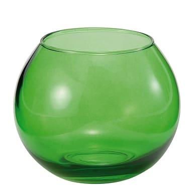 Vaso in vetro L 12 x H 10 cm Ø 12 cm