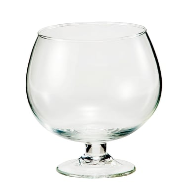 Vaso in vetro d.12.5 x h13 H 13 cm Ø 12.5 cm