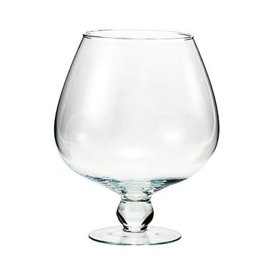Vaso in vetro H 29 cm Ø 24.5 cm