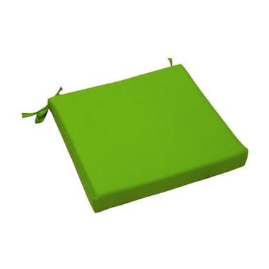 Cuscino per sedia Lola verde 40x5 cm