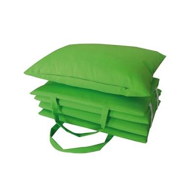 Cuscino per sedia pieghevole Beach verde lime 30x51 cm