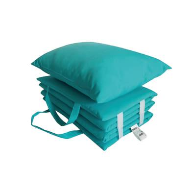 Cuscino da esterno BEACH azzurro 30 x 50 x Sp 51 cm
