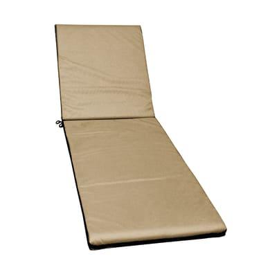 Cuscino per sedia da giardino Technique tortora 55x186 cm