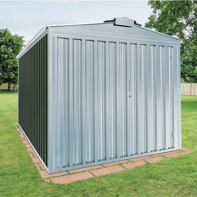 Garage in acciaio al carbonio Orlando 17.36 m², Sp 0.6 mm