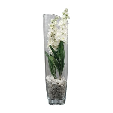 Vaso in vetro Zefir H 50 cm Ø 14 cm