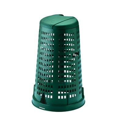 Trespolo in plastica STEFANPLAST con coperchio 100 L