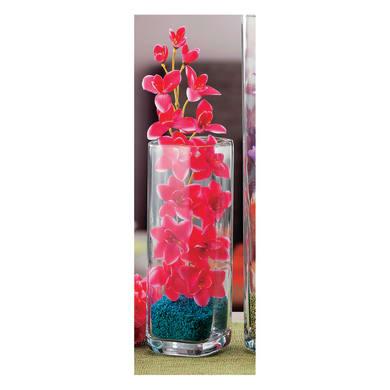 Vaso in vetro L 11 x H 32 cm Ø 11 cm