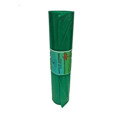 Sacchi spazzatura L 75 x H 100 cm 100 L verde 20 pezzi