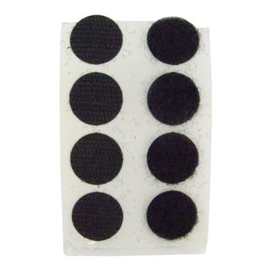 Velcro Adesivo 20 mm x 20 cm 8 pezzi