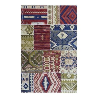 Tappeto persiano Regina patckwork , multicolor, 160x230 cm