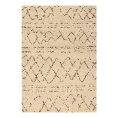 Tappeto Berber crema 200x290 cm