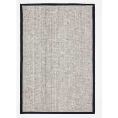 Tappeto Pradera , nero e bianco, 120x180 cm