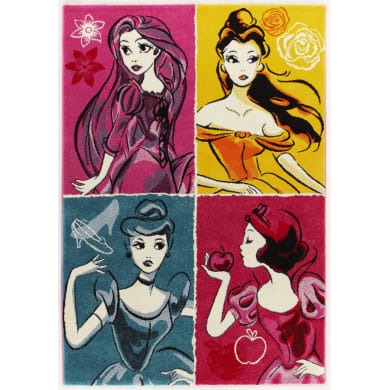 Tappeto Princess ladies , multicolor, 133x190 cm