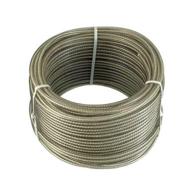 Corda stendibiancheria STANDERS zincato e fibra tessile  in acciaio Ø 3.2 mm x 20 m