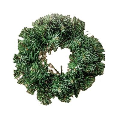 Corona di natale verde Ø 20 cm