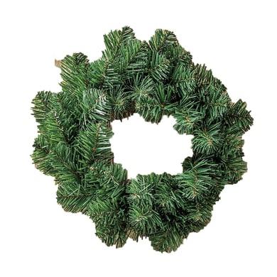 Corona di natale verde Ø 30 cm