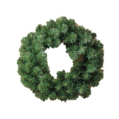 Corona di natale verde Ø 45 cm
