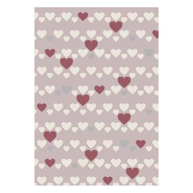 Tappeto Heart kids , rosa, 60x120 cm