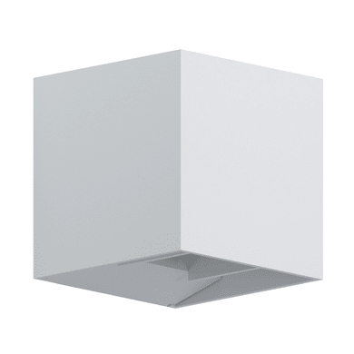 Applique Calpino LED integrato in fusione di alluminio, bianco, 3.3W 340LM IP54 EGLO