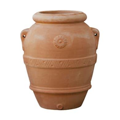Orcio Imprunetino in terracotta colore cotto H 90 cm, L 80 x P 80 cm