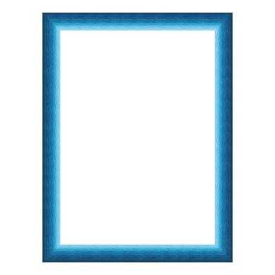 Cornice INSPIRE Bicolor azzurro per foto da 21x29.7 (A4) cm