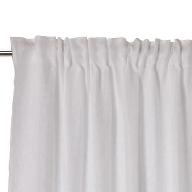 Tenda Oceania bianco fettuccia 140 x 300 cm