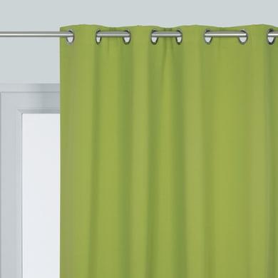 Tenda INSPIRE Oscurante verde occhielli 140 x 280 cm