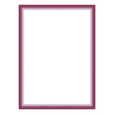 Cornice INSPIRE Bicolor fucsia<multisep/>rosa per foto da 70x100 cm