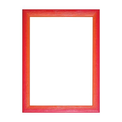 Cornice INSPIRE Bicolor rosso / arancione per foto da 30X45 cm