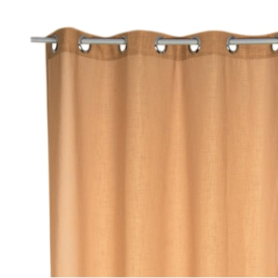 Tenda Toffy arancione occhielli 140x280 cm