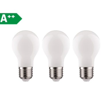 Lampadina Filamento LED E27 standard bianco caldo 11W = 1521LM (equiv 100W) 360° LEXMAN, 3 pezzi
