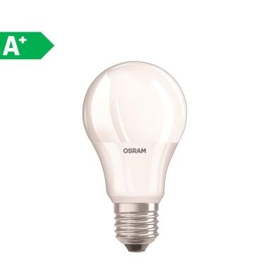 Lampadina LED E27 standard bianco freddo 6W = 470LM (equiv 40W) 220° OSRAM