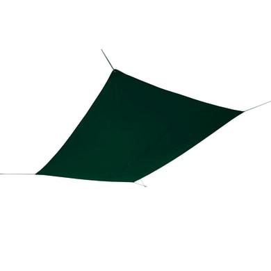 Vela ombreggiante rettangolare verde 300 x 400 cm