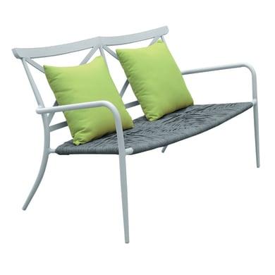 Panchina in alluminio per 2 persone