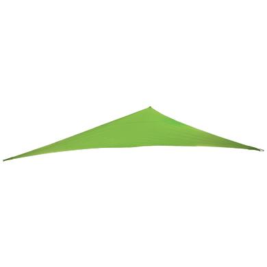 Vela ombreggiante triangolare verde 360 x 360 cm