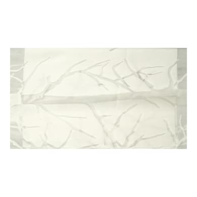 Tessuto Alberi bianco 300 cm