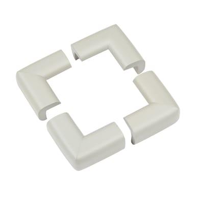 Paraspigolo Grigio in plastica / pvc Sp 40 mm 4 pezzi