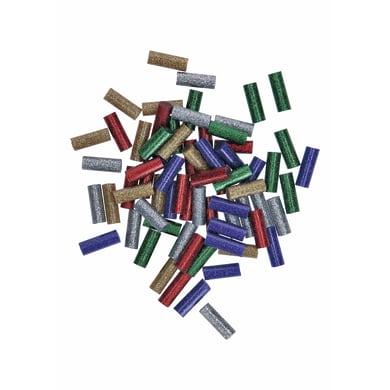 Stick di colla a caldo BOSCH Gluey colori assortiti glitter L 20 mm Ø 7 mm 50 g
